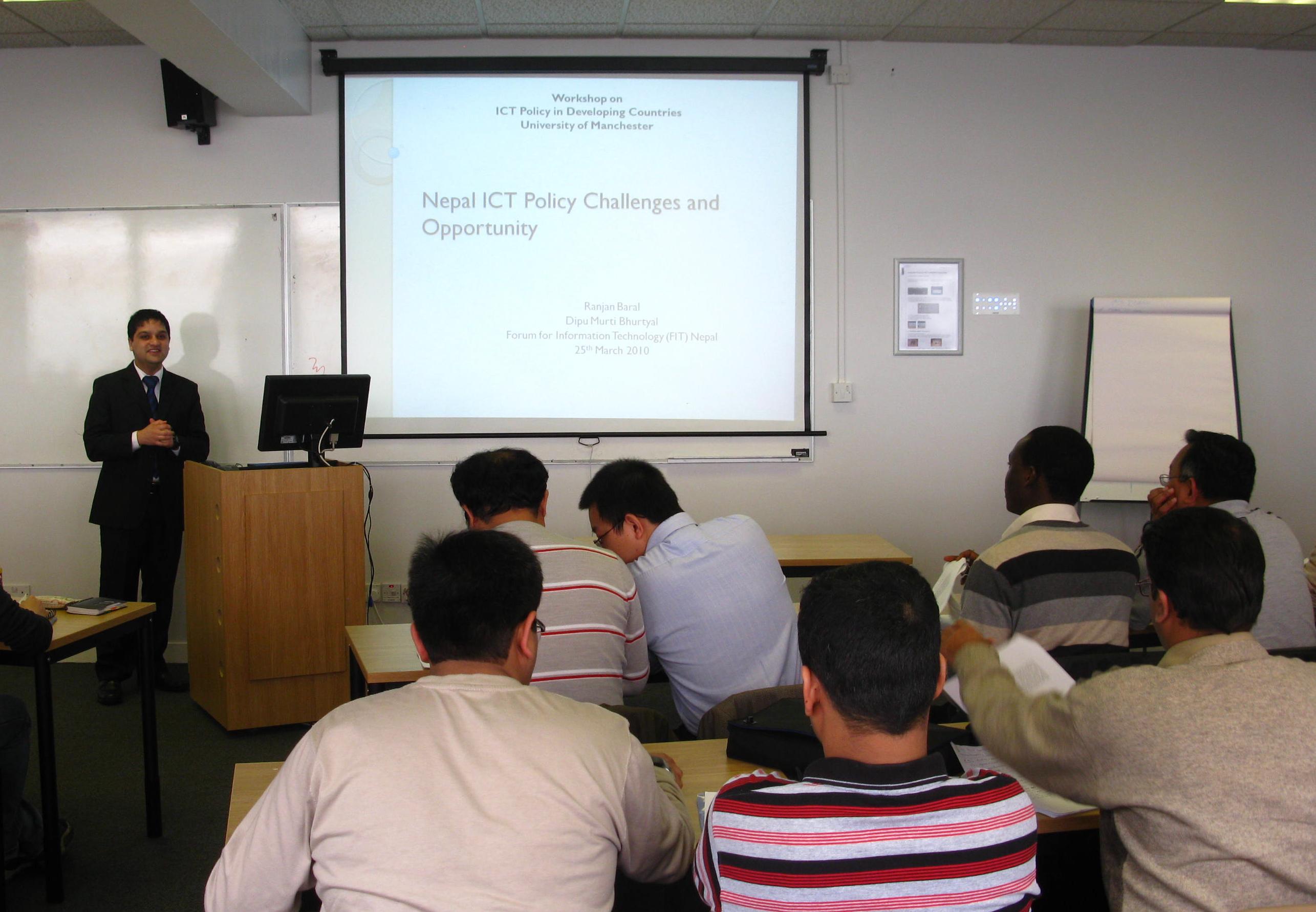 Events - Centre for Development Informatics - The University